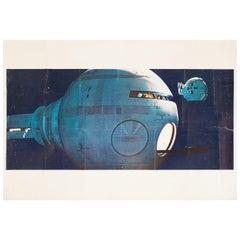 2001, A Space Odyssey 1968 U.S. Jumbo Color Photo