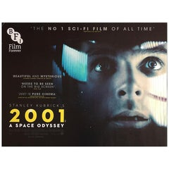 2001: A Space Odyssey (2014r) Poster