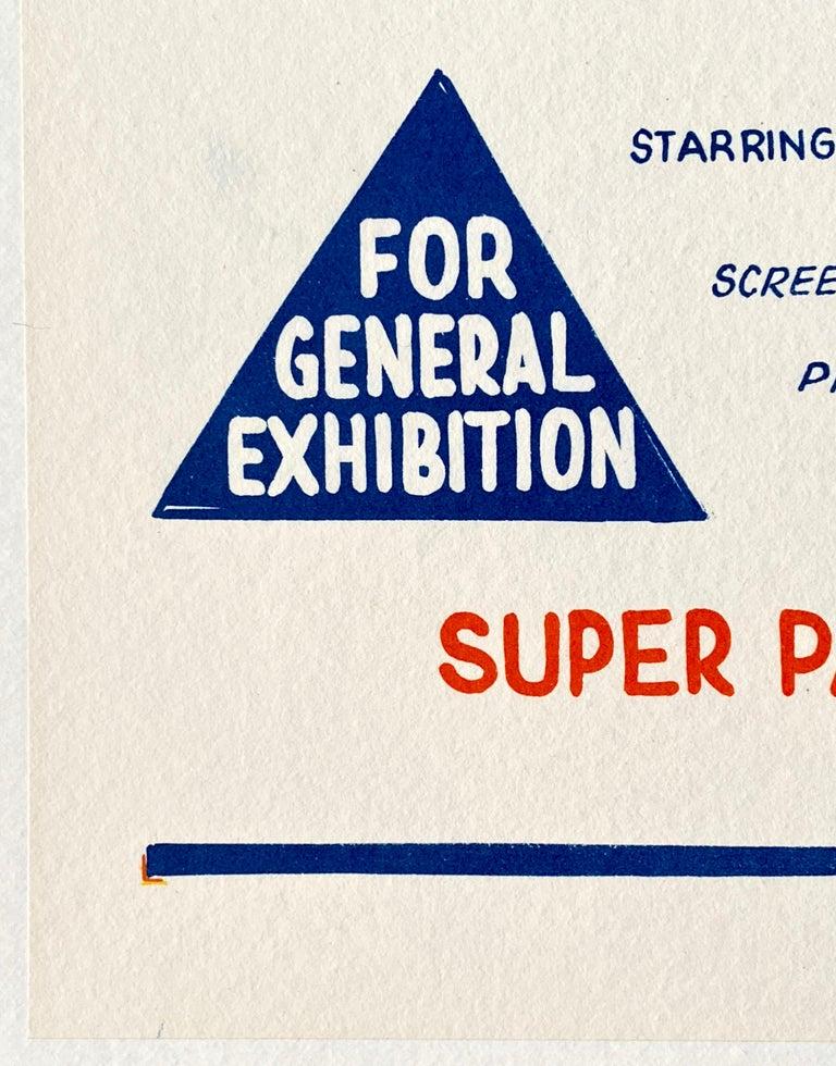 '2001: A Space Odyssey' Original Vintage Australian Daybill Movie Poster, 1968 2