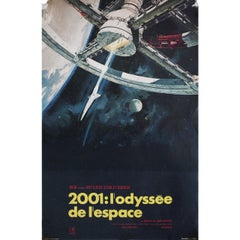 2001 A Space Odyssey R1970s French Petite Film Poster