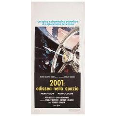 2001: A Space Odyssey R1970s Italian Locandina Film Poster