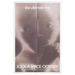"""2001: A Space Odyssey"" R1974 U.S. One Sheet Film Poster"