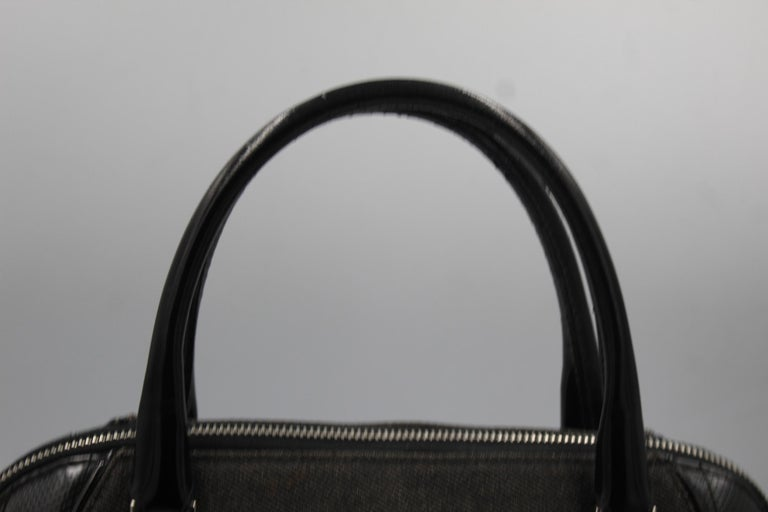 John Galliano for Dior 2001 Cadillac bag in black lambskin leather  Good condition , some light signs of use Size 35x18 cm