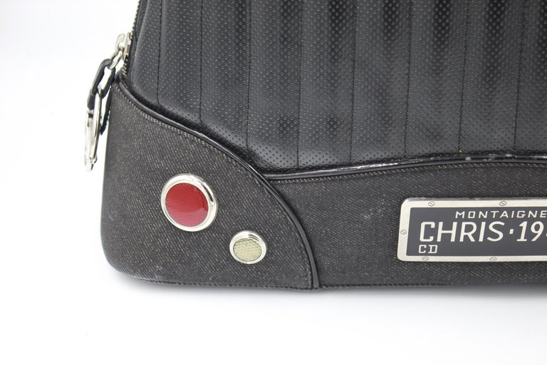 2001 Christian Dior Cadillac Top Handle Bag by John Galliano  In Good Condition For Sale In Paris, FR
