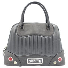2001 Christian Dior Cadillac Top Handle Bag by John Galliano