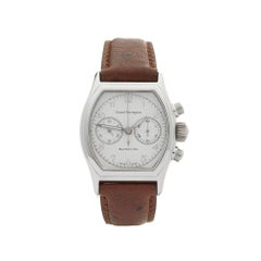 2001 Girard Perregaux Richeville Chronograph White Gold Wristwatch