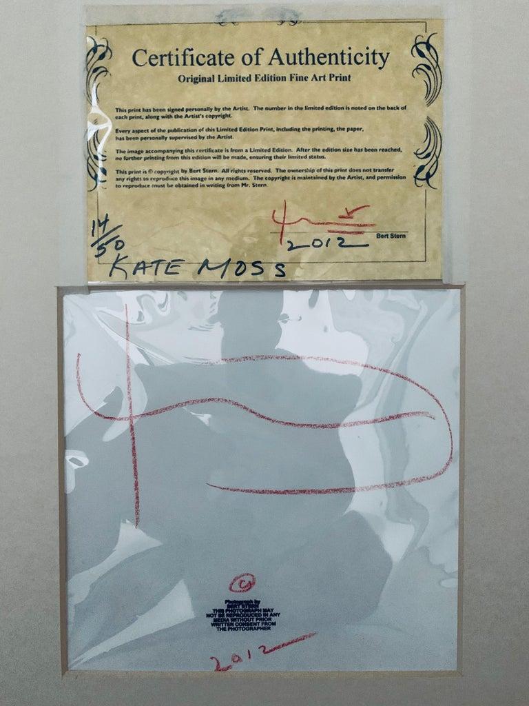 Modern 2001 Kate Moss by Bert Stern For Sale