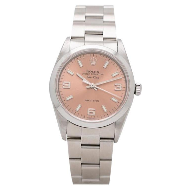 2001 Rolex Air King Model 14000m For Sale