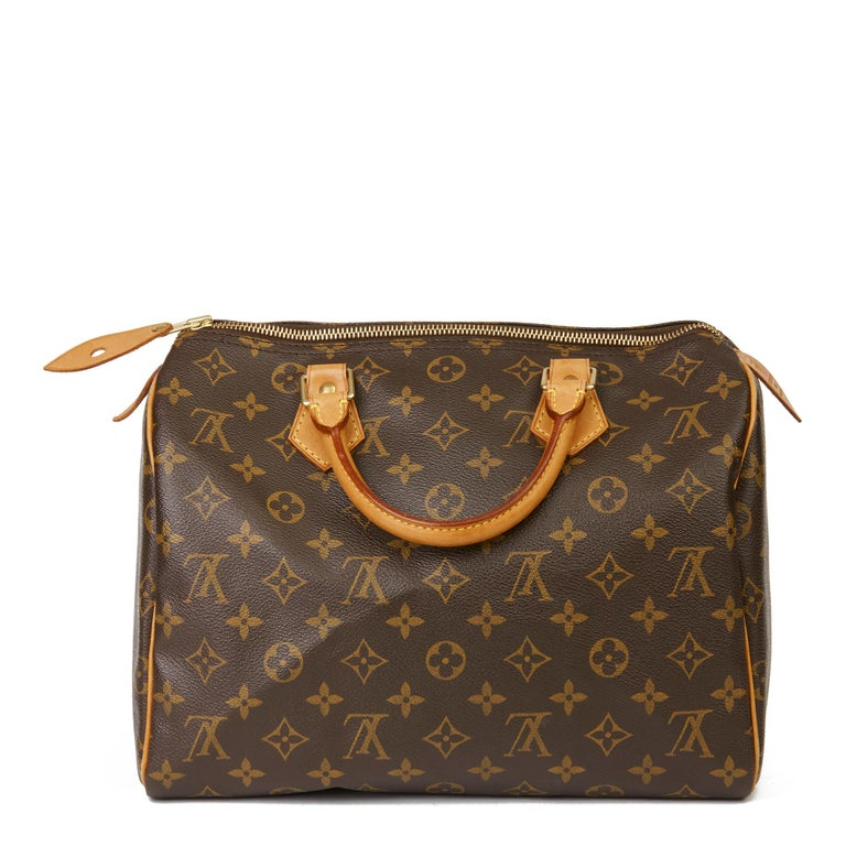 Women's or Men's 2002 Louis Vuitton Hand-painted  Love is Love Monogram Coated Canvas Speedy 30 For Sale