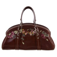 2002 Vintage John Galliano for Christian Dior Leather Bag