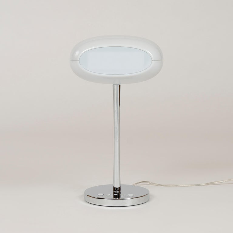 Italian 2003 Contemporary 'Time and Space' Clock Lamp by Karim Rashid for Artemide