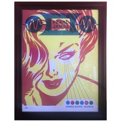 2003 Pearl Jam Concert Poster - Live Council Bluffs Signed by Artist