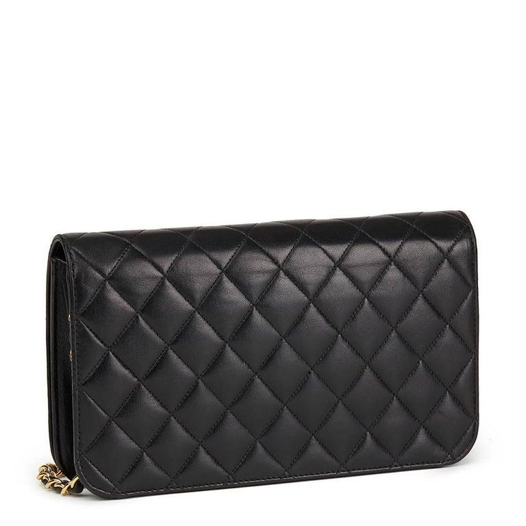 8695e963b9f8 Chanel Black Quilted Lambskin Medium Single Full Flap Bag - Best ...