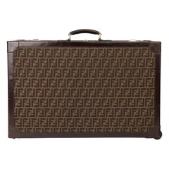 2004 Fendi Monogram Canvas Rolling Trunk, Originally Owned by Karl Lagerfeld