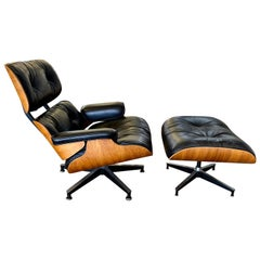 2004 Herman Miller Eames Lounge Chair and Ottoman