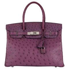 2004 Hermès Voline Ostrich Leather Birkin 30cm