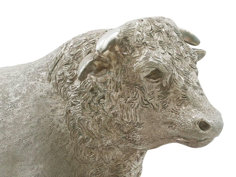 Other 2004 Sterling Silver Presentation Bull For Sale