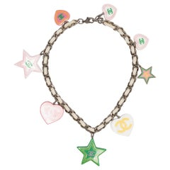 2004s  Chanel Multico Charms Necklace