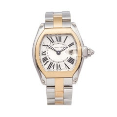 2005 Cartier Roadster Steel & Yellow Gold 2675 Wristwatch