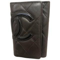 2005 Chanel Cambon Ligne 6-Key Holder W/Box