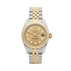 2005 Rolex Datejust Steel & Yellow Gold 179173 Wristwatch