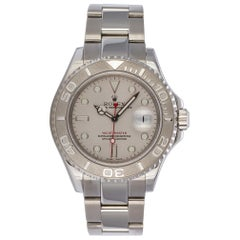 2005 Rolex Stainless Steel Platinum Oyster Perpetual Yacht-Master 16622