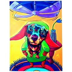 "2005 Ron Burns Limited Edition Giclee On Canvas ""Come Fly With Me"", Signed"