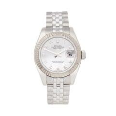 2006 Rolex Datejust Stainless Steel 179174 Wristwatch