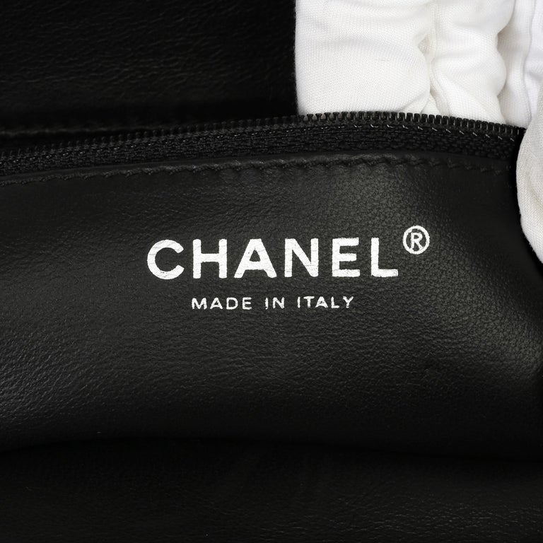 2007 Chanel Black Quilted Aged Patent Leather Timeless Clutch For Sale 4