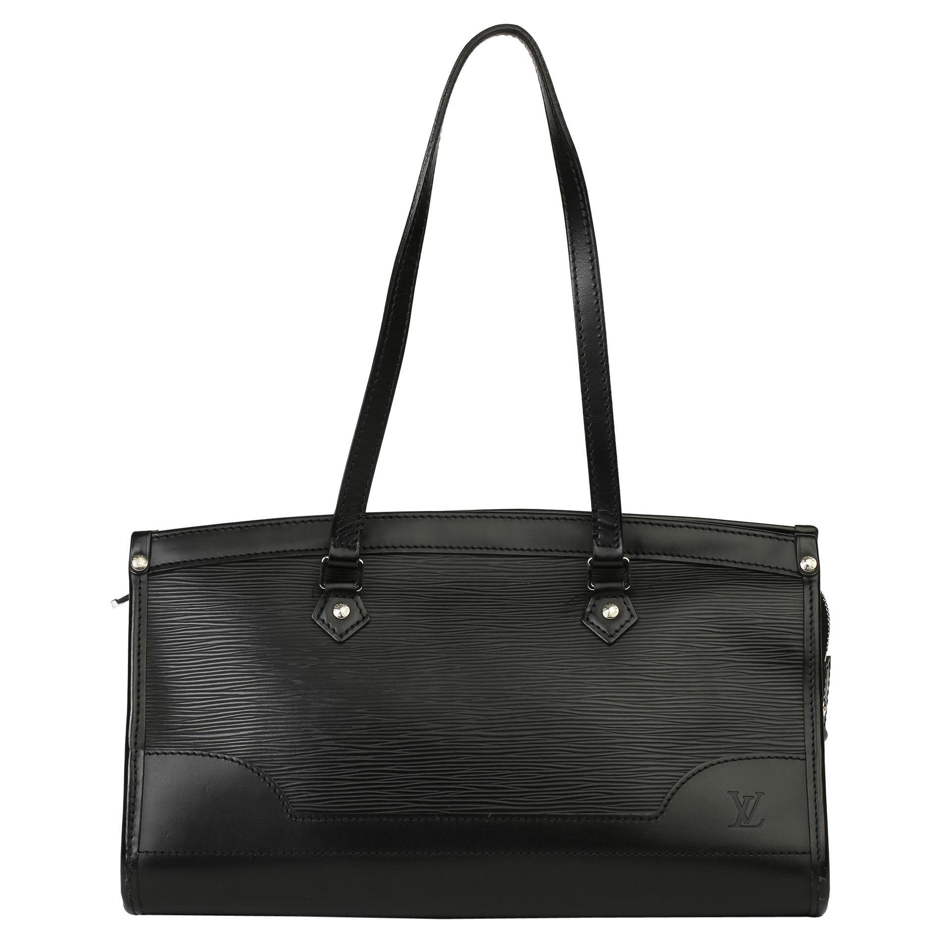 2007 Louis Vuitton Black Epi Leather Madeline