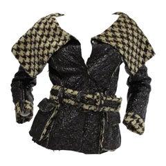 2007 Oscar De La Renta Houndstooth Jacket