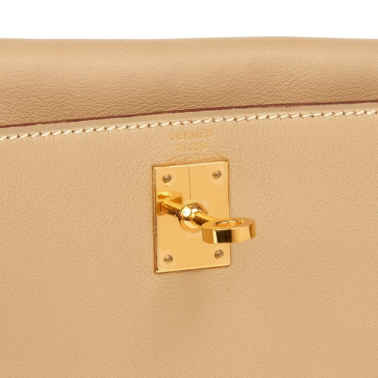 c4a6cbd6a68f 2008 Hermes Parchemin Swift Leather Kelly Danse For Sale at 1stdibs