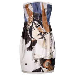 2008 ICONIC ALEXANDER MCQUEEN 'GOD SAVE THE QUEEN' DRESS Size 44