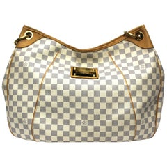 2008 Louis Vuitton Damier Azur Leather Galliera GM Bag