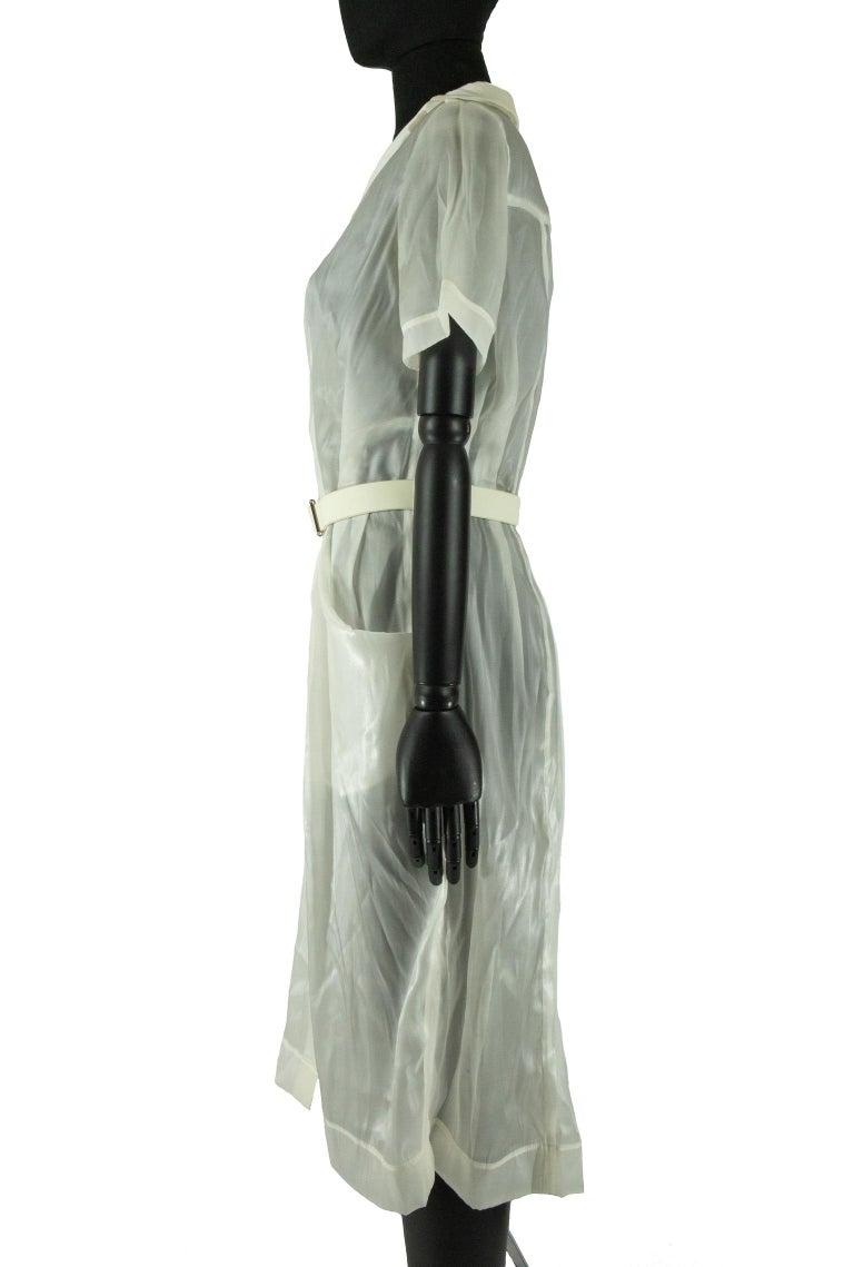 Gray 2008 Marc Jacobs for Louis Vuitton Shirt Dress For Sale