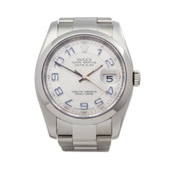 2008 Rolex Datejust Stainless Steel 116200 Wristwatch