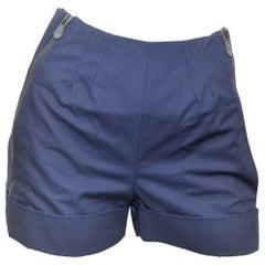 2009 Balenciaga Zippered Waist Shorts