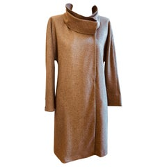 2009 Brunello Cucinelli Warm Taupe Wool/Cashmere Coat (46 Itl)