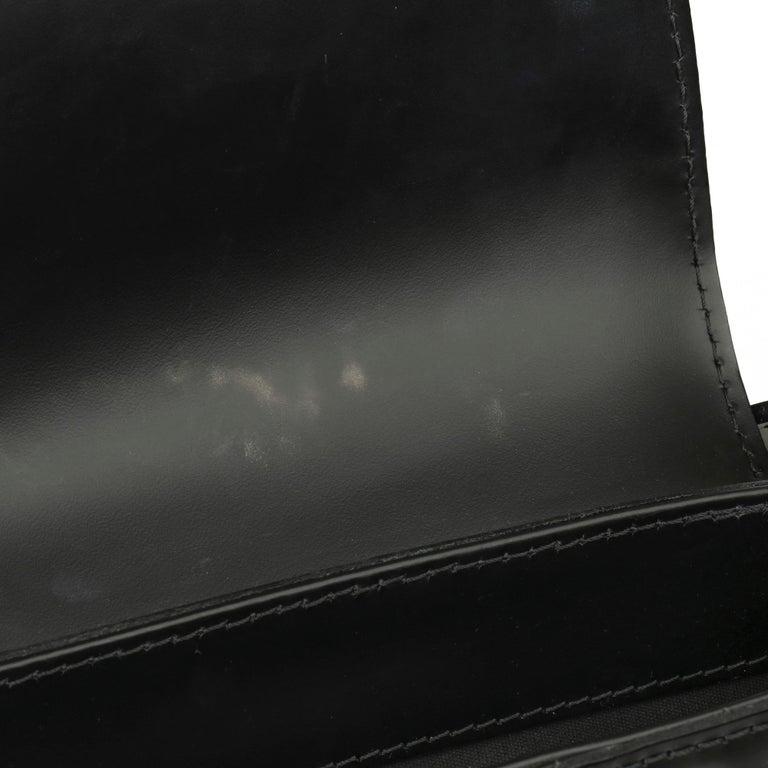 2009 Louis Vuitton Black Epi Leather & Black Calfskin Leather Beverly Bag For Sale 9