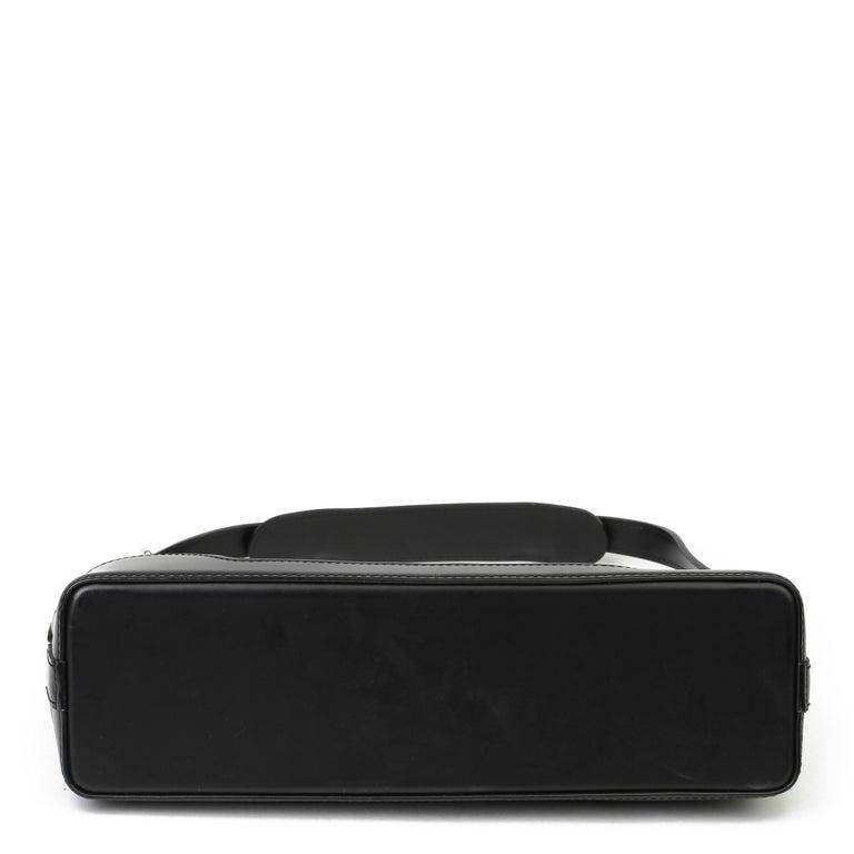 2009 Louis Vuitton Black Epi Leather & Black Calfskin Leather Beverly Bag For Sale 2
