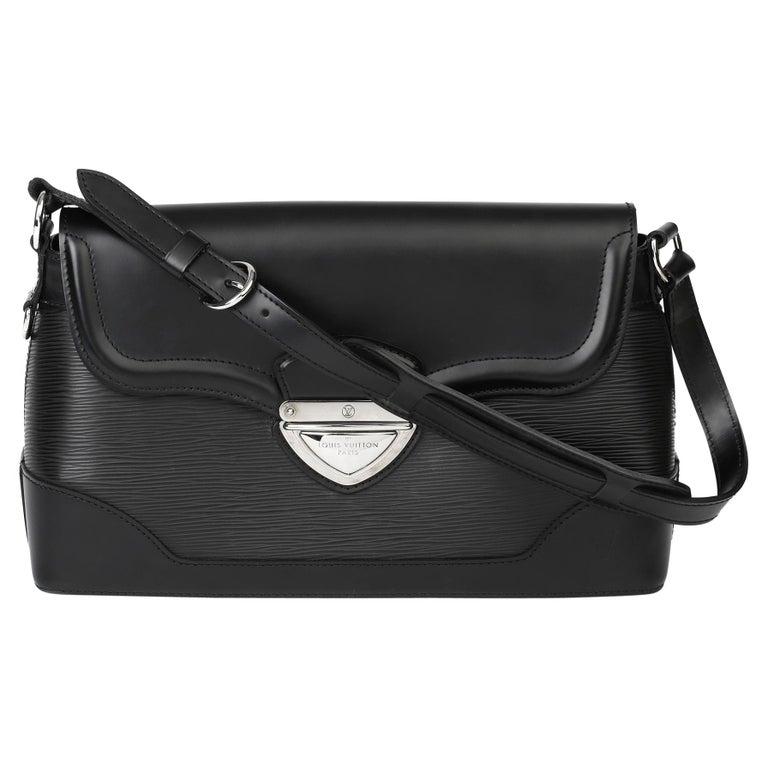 2009 Louis Vuitton Black Epi Leather & Black Calfskin Leather Beverly Bag For Sale
