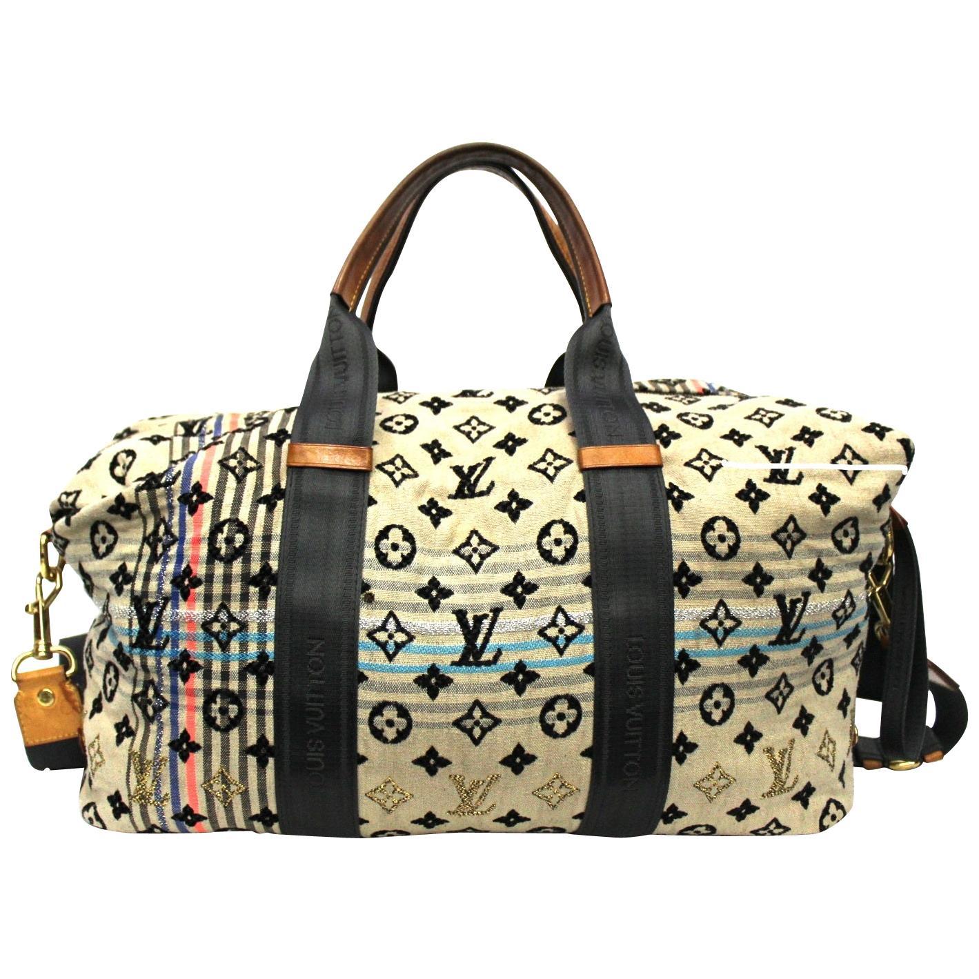 2009 Louis Vuitton Limited Edition Beige Monogram Cheche Tuareg Bag