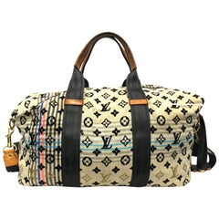 2009 Louis Vuitton Limited Edition Beige Monogram Cheche Tuareg Bag