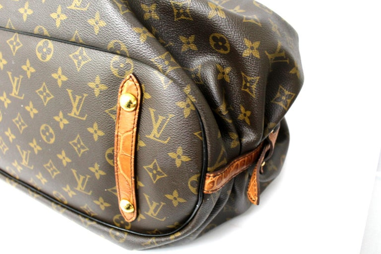 2009 Louis Vuitton Monogram Leather Mahina Limited Edition Bag In New Condition For Sale In Torre Del Greco, IT