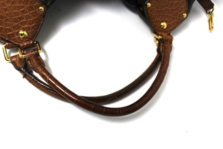 Women's 2009 Louis Vuitton Monogram Leather Mahina Limited Edition Bag For Sale