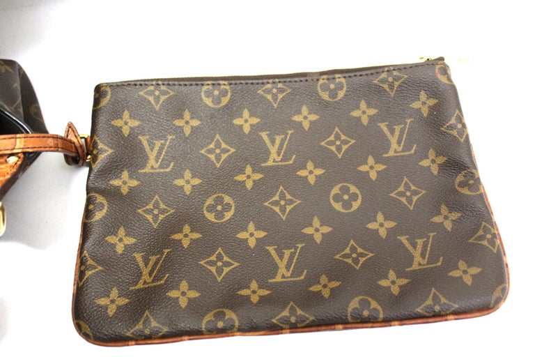 2009 Louis Vuitton Monogram Leather Mahina Limited Edition Bag For Sale 2