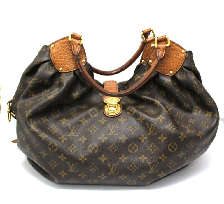 2009 Louis Vuitton Monogram Leather Mahina Limited Edition Bag For Sale 4