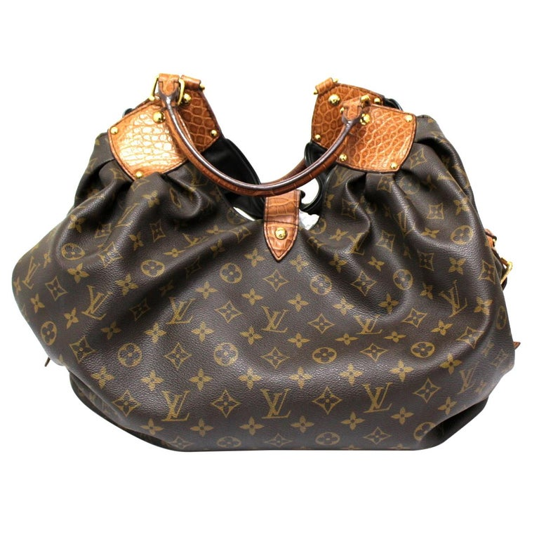 2009 Louis Vuitton Monogram Leather Mahina Limited Edition Bag For Sale