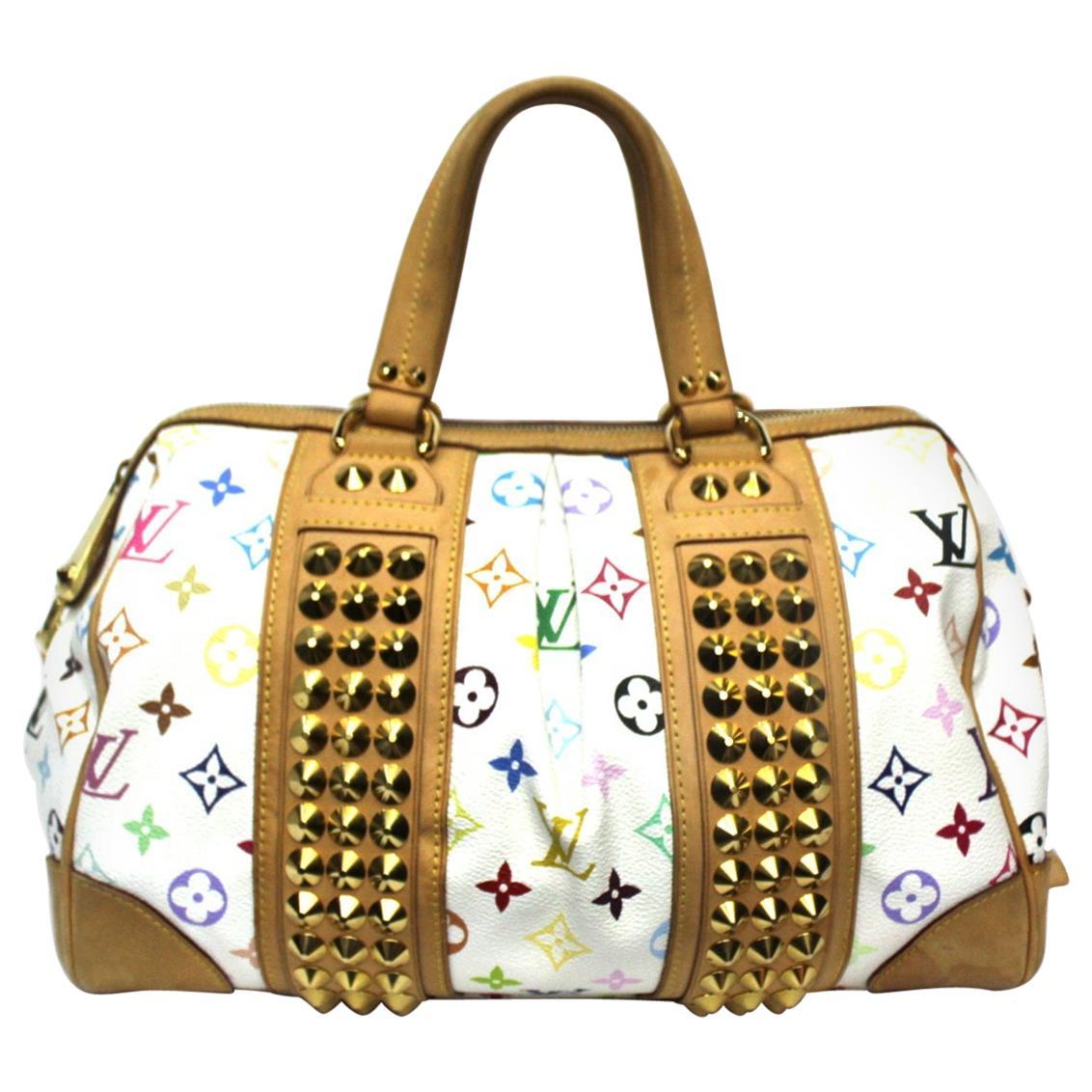 2009 Louis Vuitton Multicolor Courtney Bag