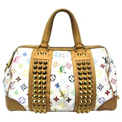 2009 Louis Vuitton Multicolor Courtney Bag